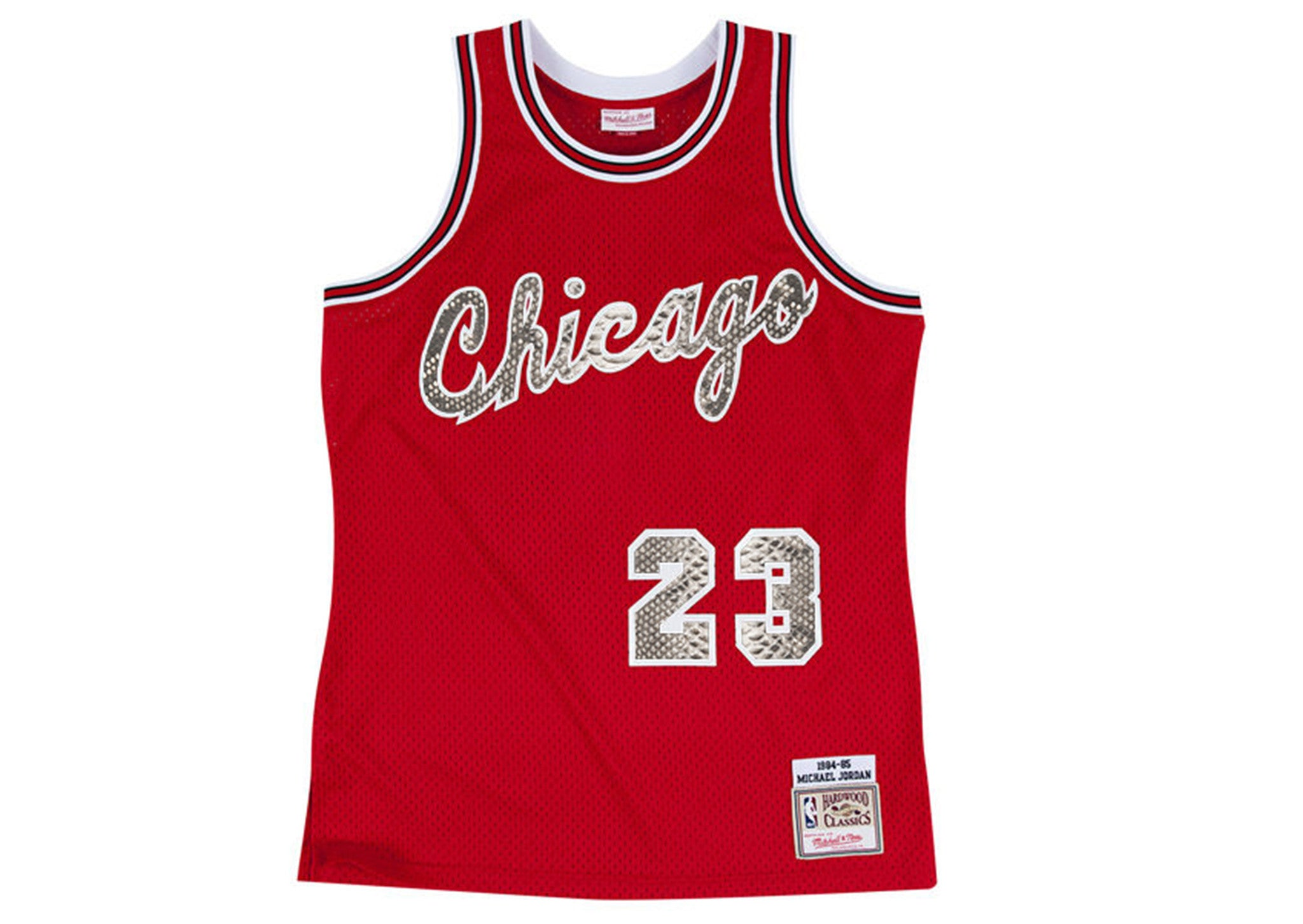 timeless design 400ce 82641 Mitchell & Ness Michael Jordan 1984-1985 Chicago Bulls Rookie Python Jersey