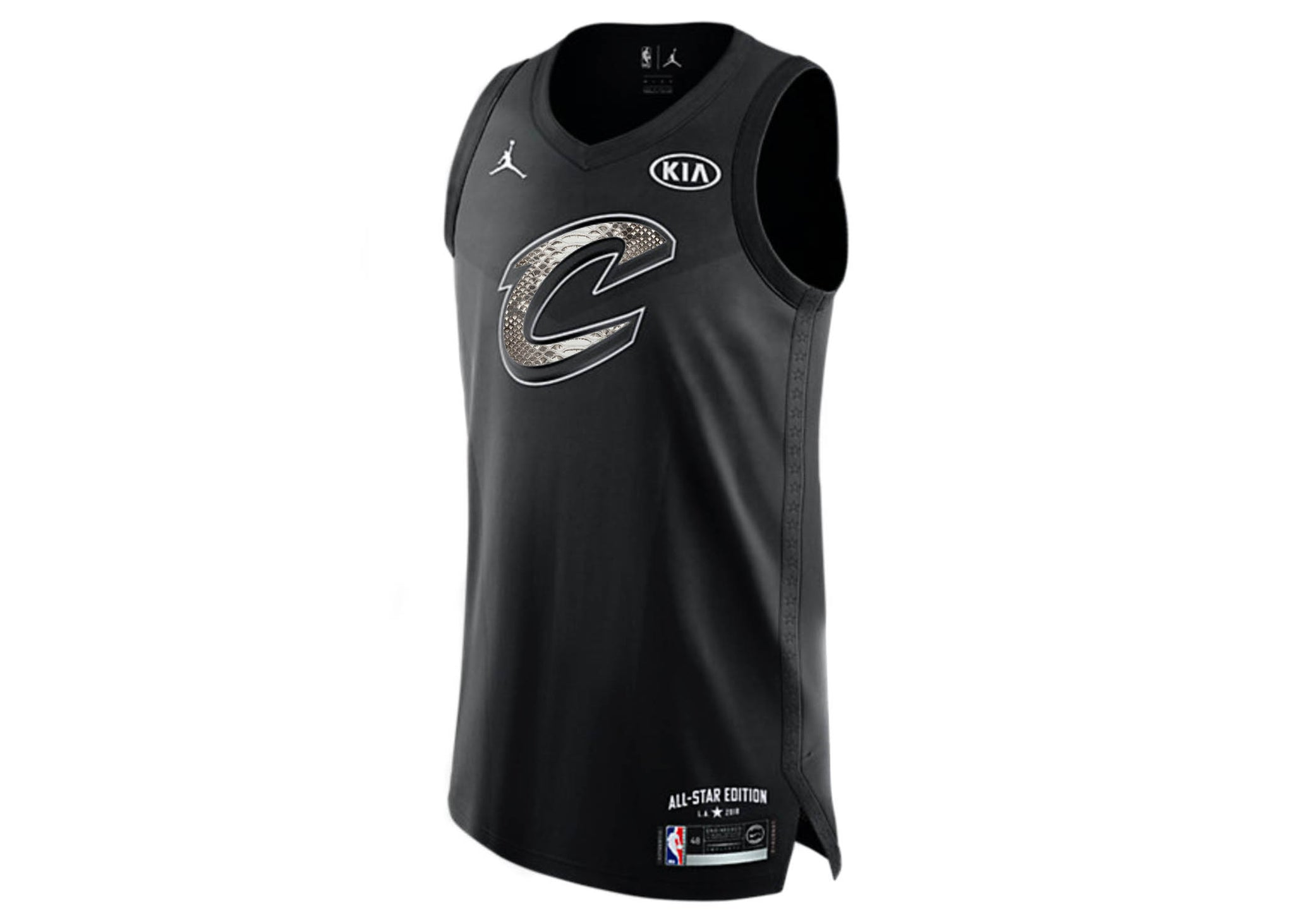 best sneakers f9cdc 2c34e Nike LeBron James Cleveland Cavaliers All-Star Edition Python Jersey