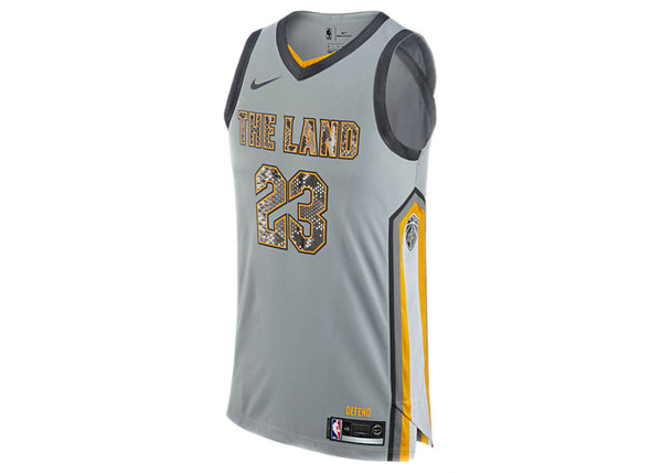 Nike LeBron James Cleveland Cavaliers City Edition Python Jersey