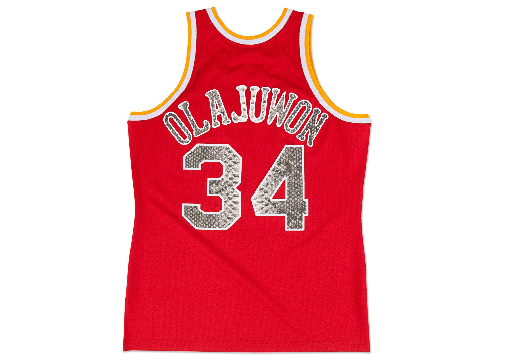 Mitchell & Ness Hakeem Olajuwon 1993-1994 Houston Rockets Python Jersey