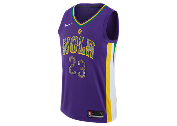Nike Anthony Davis New Orleans Pelicans City Edition Python Jersey