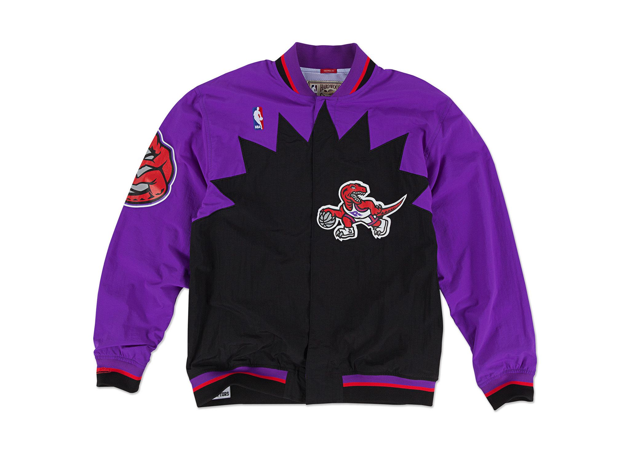 "Mitchell & Ness Toronto Raptors ""Nothing But Net"" Python Warm Up Jacket"