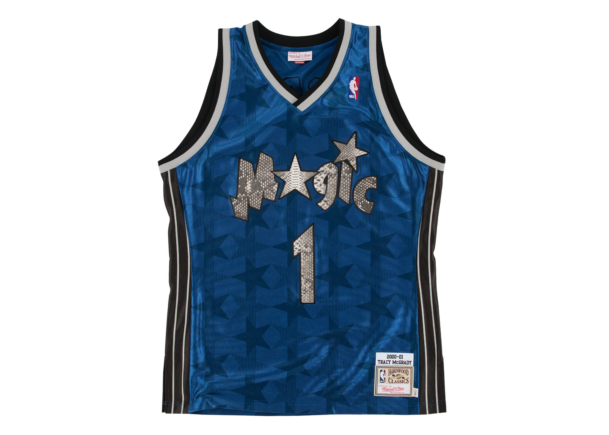 best sneakers 3fb19 cf940 Mitchell & Ness Tracy McGrady 2000-2001 Orlando Magic Python Jersey