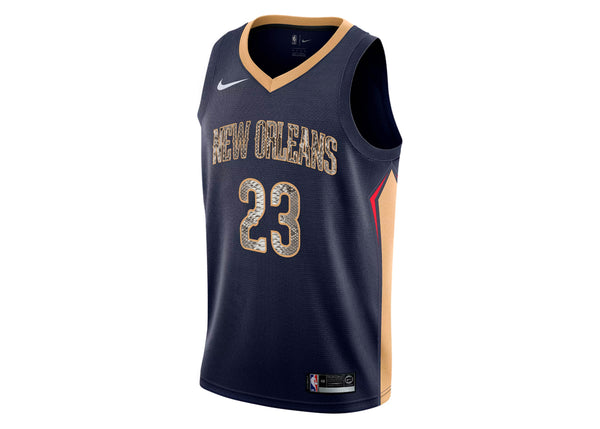 Nike Anthony Davis New Orleans Pelicans Python Jersey