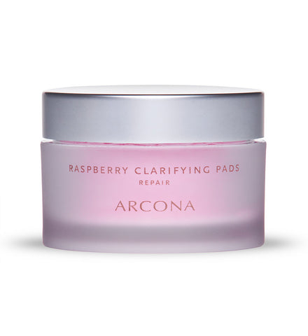 Arcona Raspberry Clarifying Pads - Spa Gregorie's Day Spa & Salon