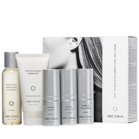 Arcona Basic Five Daily Essentials - Normal Skin