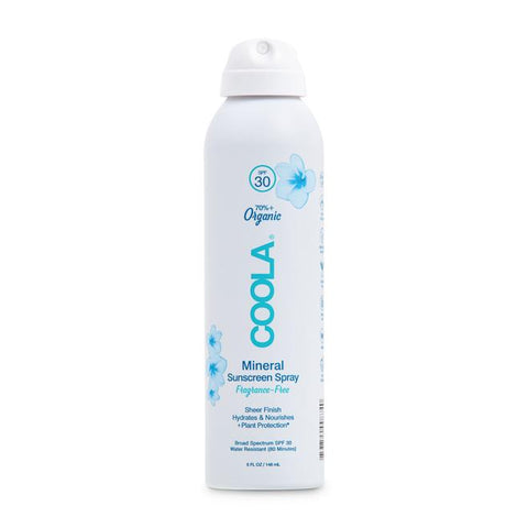 Coola Mineral Sunscreen Spray Fragrance Free 5oz