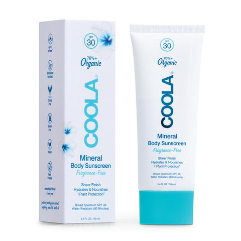 Coola Organic Mineral Body Sunscreen Tropical Coconut 3.4oz