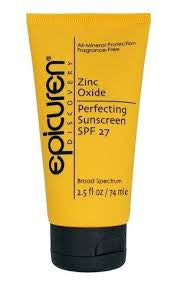 Zinc Oxide Perfecting Sunscreen SPF 27 - Spa Gregorie's Day Spa & Salon