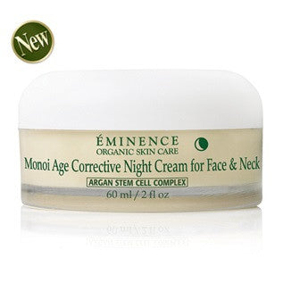 Eminence Monoi Age Corrective Night Cream for Face & Neck - Spa Gregorie's Day Spa & Salon