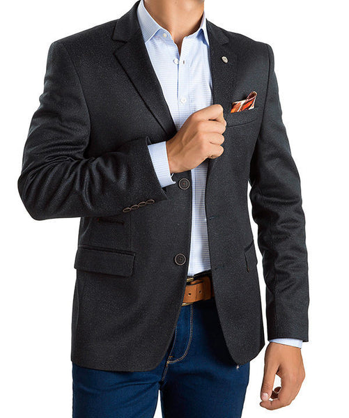 RON TOMSON - Two Button Notch Lapel Blazer - RNT23 - 1