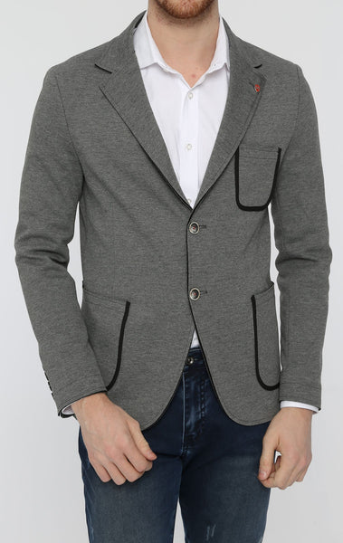 RON TOMSON - Patch Pocket Casual Blazer - RNT23 - 1