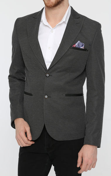 RON TOMSON - Wide Peak Fitted Blazer - RNT23 - 1