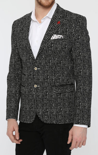 RON TOMSON - Cracked Ice Fitted Blazer - RNT23 - 2