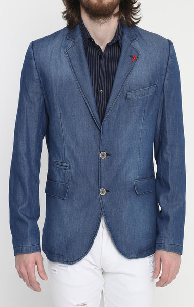 RON TOMSON - Lightweight Fitted Blazer - RNT23 - 1