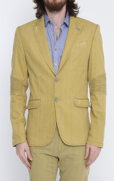RON TOMSON - Yellow Peak Casual Summer Blazer - RNT23 - 1