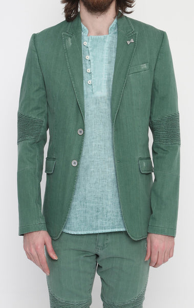 RON TOMSON - Green Peak Casual Summer Blazer - RNT23 - 1