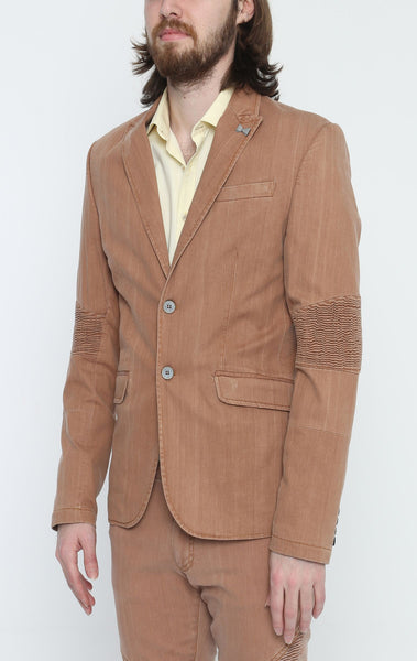 RON TOMSON - Brown Peak Casual Summer Blazer - RNT23 - 2