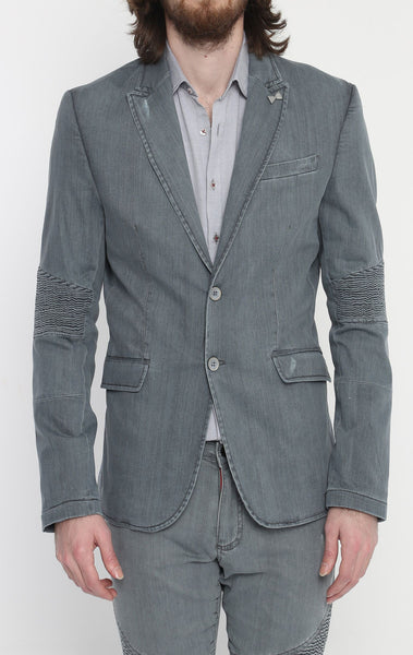 RON TOMSON - Grey Peak Casual Summer Blazer - RNT23 - 1
