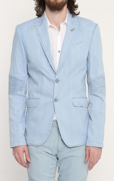 RON TOMSON - Blue Peak Casual Summer Blazer - RNT23 - 1