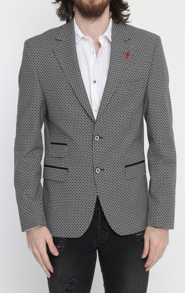 RON TOMSON - Honeycomb Fitted Blazer - RNT23 - 1