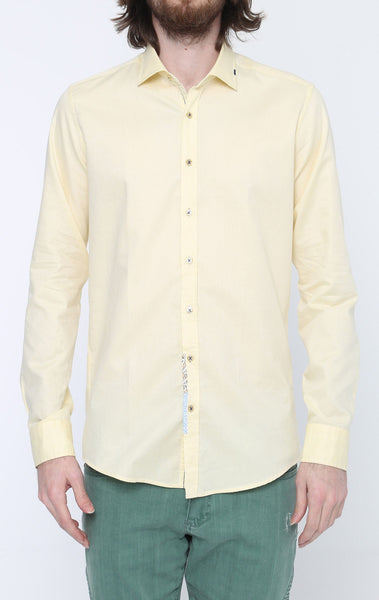 RON TOMSON - Ron Tomson Brand Stitch Detail Casual Cotton Shirt - Colors - RNT23 - 1