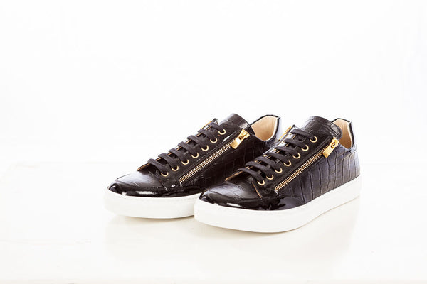 RON TOMSON - Croc Zipper Sneakers - RNT23 - 1