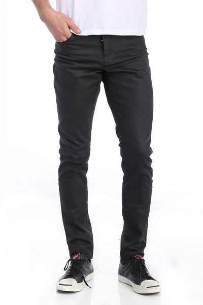 RON TOMSON - Coated Skinny Fit Jeans - RNT23 - 1