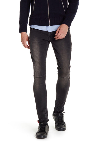 RON TOMSON - Stone Wash Slim Fit Jeans - Black - RNT23 - 1