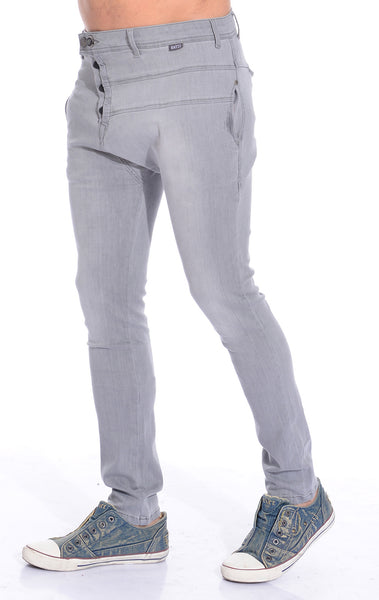 RON TOMSON - Harem Lounge Pants - Grey - RNT23 - 2