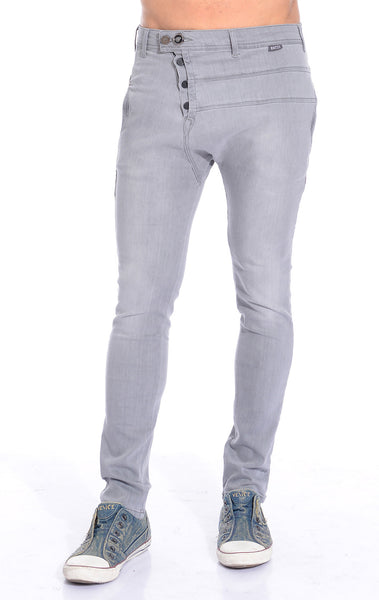RON TOMSON - Harem Lounge Pants - Grey - RNT23 - 1