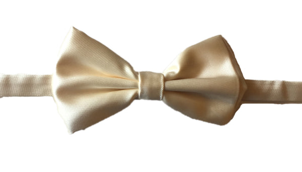 Satin Evening Bowtie - Grey