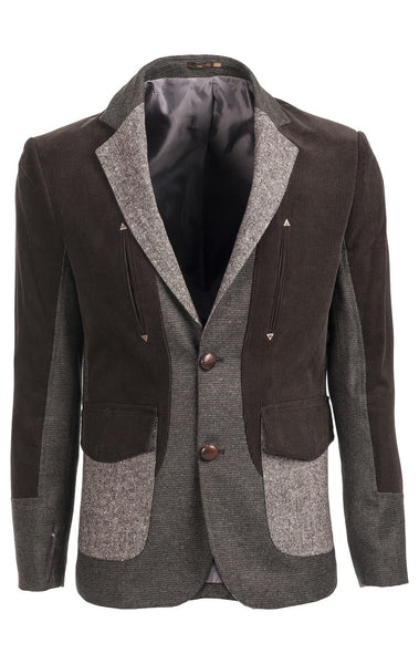 RON TOMSON - Elbow Patch Western Sport Coat - RNT23 - 1
