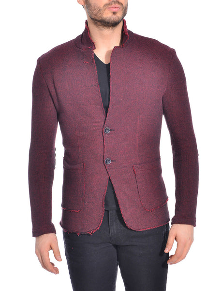 RON TOMSON - Raw Edge Fitted Cardigan - RNT23 - 1