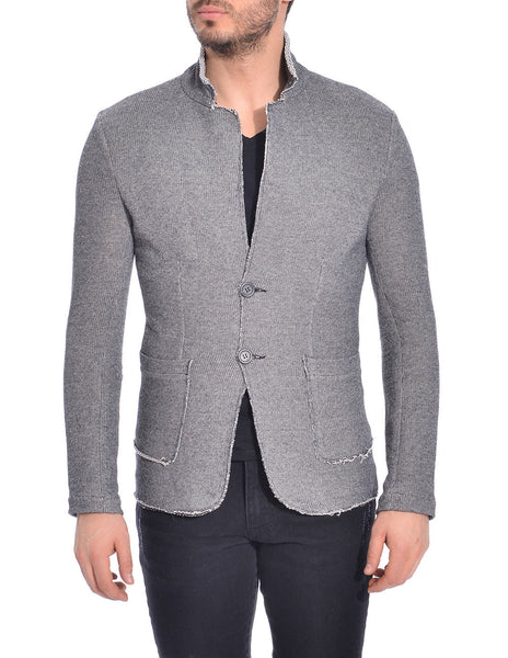 RON TOMSON - Raw Edge Fitted Cardigan - RNT23 - 4