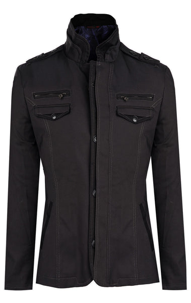 RON TOMSON - Epaulette Shoulder Jacket - RNT23 - 1