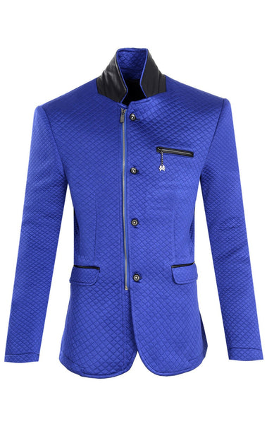 RON TOMSON - Quilted Zip Button Jacket - RNT23 - 1