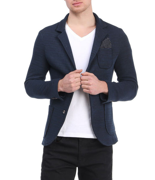 RON TOMSON - Raw Edge Fitted Jacket - RNT23 - 4