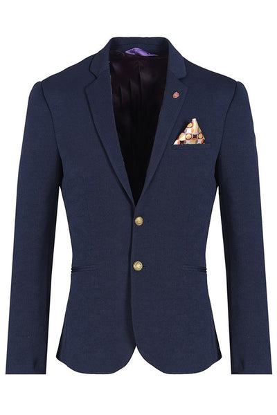 RON TOMSON - Gold Button Fitted Blazer - RNT23 - 5