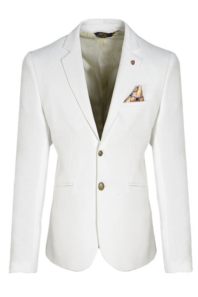 RON TOMSON - Gold Button Fitted Blazer - RNT23 - 11