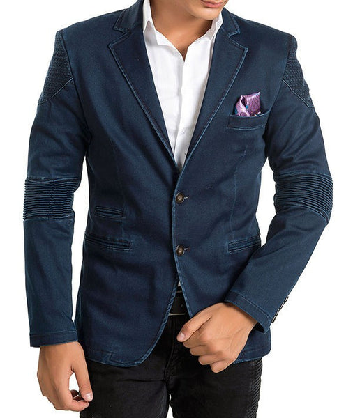 RON TOMSON - Moto-Cross Notch Lapel Blazer - RNT23 - 1