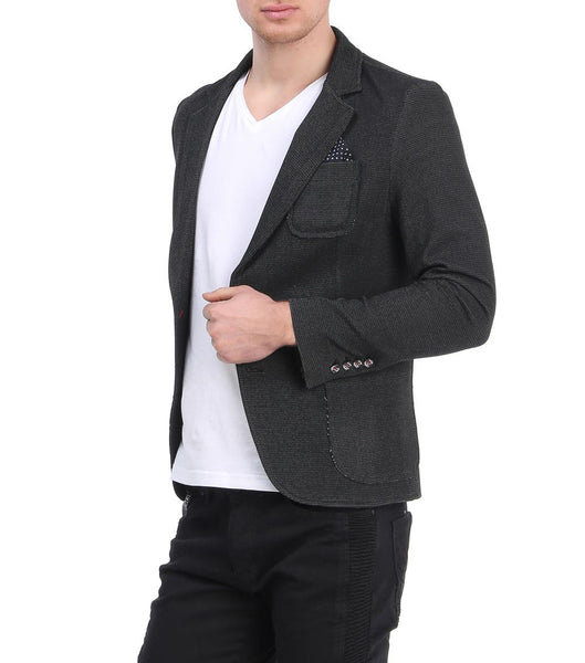RON TOMSON - Raw Edge Fitted Jacket - RNT23 - 2