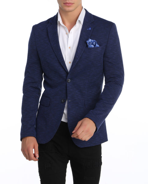 RON TOMSON - Lightweight Notch Lapel Fitted Blazer - RNT23 - 1