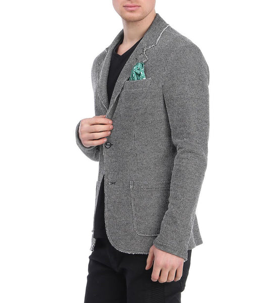 RON TOMSON - Unfinished Fitted Casual Jacket - RNT23 - 2