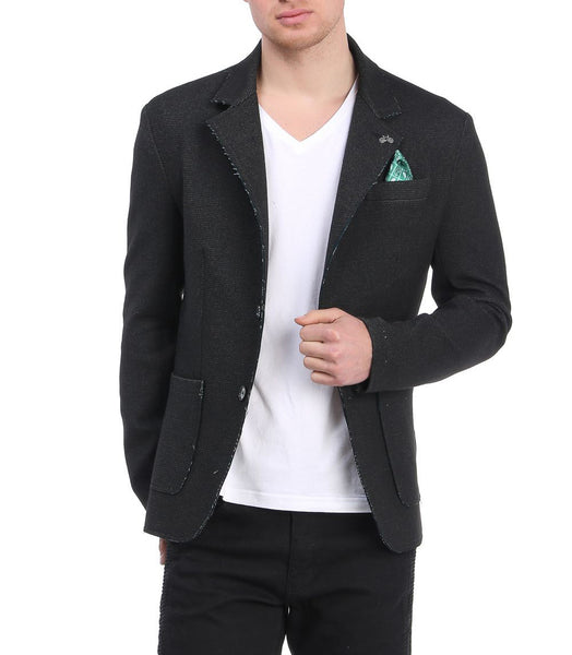 RON TOMSON - Unfinished Fitted Casual Jacket - RNT23 - 5
