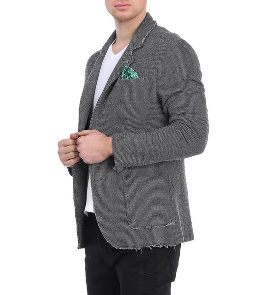 RON TOMSON - Unfinished Fitted Casual Jacket - RNT23 - 9