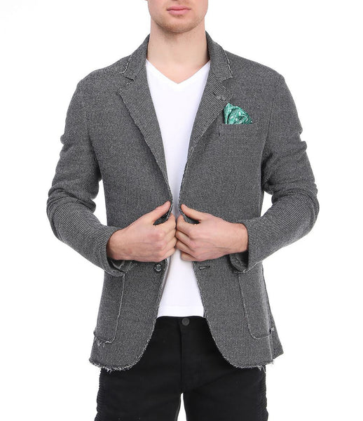 RON TOMSON - Unfinished Fitted Casual Jacket - RNT23 - 8