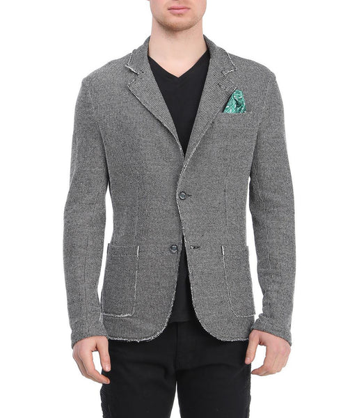 RON TOMSON - Unfinished Fitted Casual Jacket - RNT23 - 1