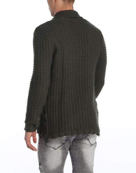 RON TOMSON - Long Lightweight Patch Cardigan - RNT23 - 7