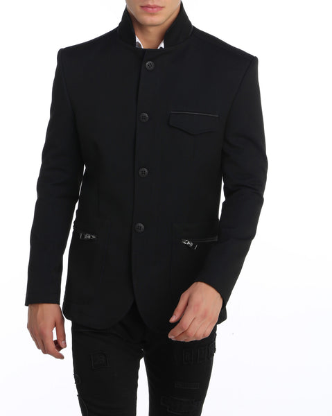 RON TOMSON - Stand Collar Jacket - RNT23 - 2
